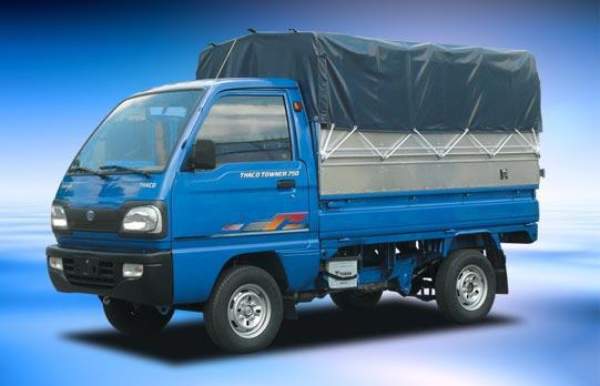Xe thùng 8 tấn 7 tấn cửu long, giá xe ô tô tải cửu long 1,25t 3.45 tan 4,95 tấn 6,2 tấn, bán xe ben 950kg giá rẻ nhất Ảnh số 23721754