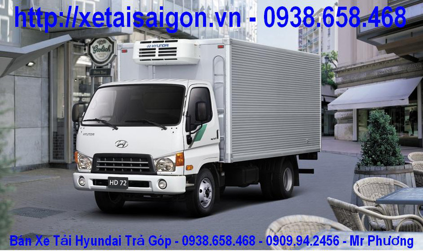Bán Xe Tải Hyundai 3,5 tấn HD72 3T5 Xe Ben 3,5 tấn, đóng thùng kín, thùng bạt Sản Xuất 2013 Ảnh số 27978777