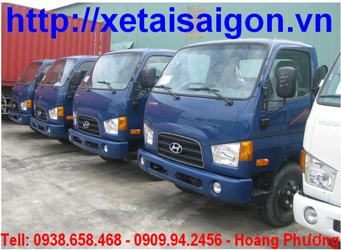 Bán Xe Tải Hyundai 3,5 tấn HD72 3T5 Xe Ben 3,5 tấn, đóng thùng kín, thùng bạt Sản Xuất 2013 Ảnh số 27978790