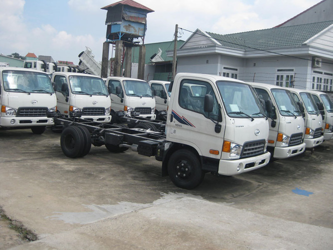 Bán Xe Tải Hyundai 3,5 tấn HD72 3T5 Xe Ben 3,5 tấn, đóng thùng kín, thùng bạt Sản Xuất 2013 Ảnh số 27978918