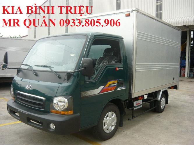 Xe tải Kia 1 tấn 25 k2700, 830kg 930kg thùng kín kèo bạt chính hãng giá tốt 2013 Ảnh số 30227798