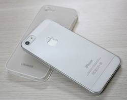 Ảnh số 9: Ốp Lưng iphone 5 Silicon Mỏng Trong Suốt: - Giá: 150.000