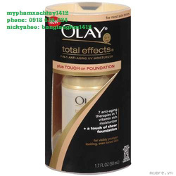 Ảnh số 6: Olay Total Effects Plush TOUCH of FOUNDATION (Made in Usa, 50ml) - Giá: 560.000