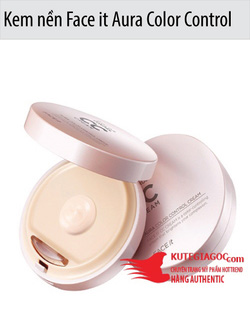 Ảnh số 40: CC Cream Aura color Control Cream - Face it - Giá: 330.000