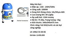 Ảnh số 10: M&aacutey H&uacutet Bụi CE1016 - Giá: 3.400.000