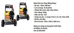 Ảnh số 17: M&aacutey Rửa xe chạy xăng - Giá: 8.000.000