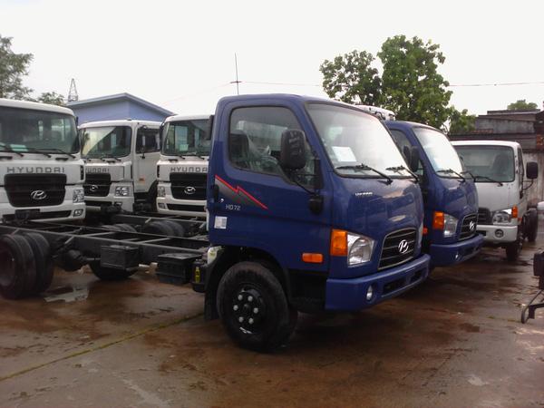 Bán Xe Tải Hyundai 3,5 tấn HD72 3T5 Xe Ben 3,5 tấn, đóng thùng kín, thùng bạt Sản Xuất 2013 , Ảnh đại diện