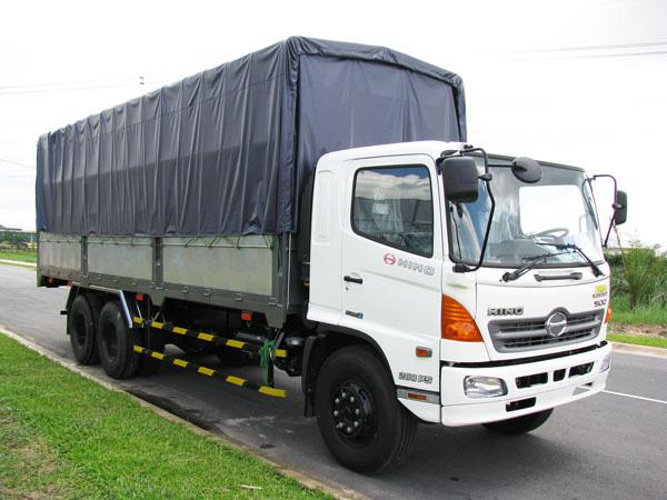 Bán xe tải Hino 16T.Giá xe tải Hino 16 tấn 3 chân thùng mui bạt
