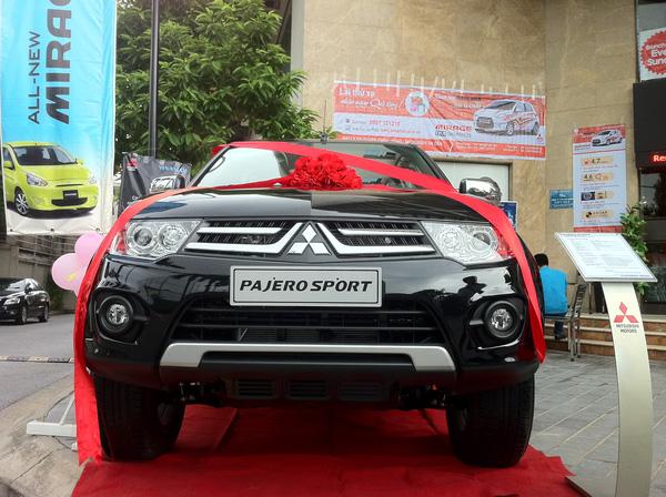 Xe Pajero Sport 2014 máy xăng 4WD 5AT phiên bản mới đã trình làng , Ảnh đại diện