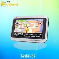 Looket N5 Thiết bị dẫn đường màn hình rộng, bản đồ chi tiết với nhiều tính năng tiện ích
