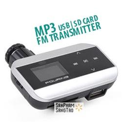 Bán: Máy phát nhạc qua Radio FM trên ô tô, MP3 dành cho ô tô. Tại cửa hàng quà tặng SảnPhẩmSángTạo 244 Kim Mã Hà Nội.