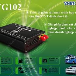 Hộp đen ô tô hợp chuẩn TG102, thiết bị giám sát hành trình nhỏ gọn nhất Việt Nam