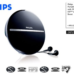 Phone CD Philips EXP 2546, Mp3 CD player