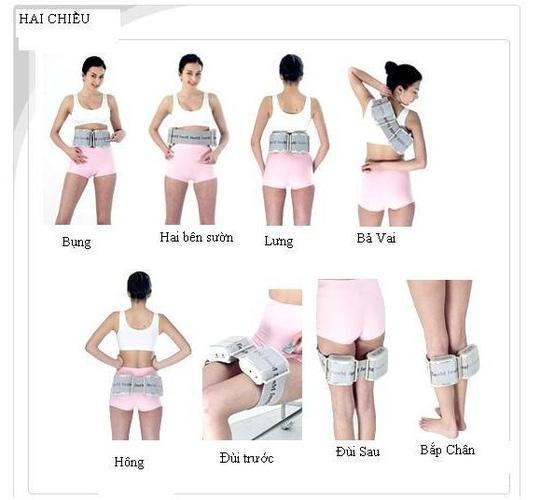 Kết quả hình ảnh cho Đai massage giảm béo bụng rung toàn thân Body vibra