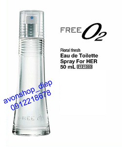 Ảnh số 24: Free O2 for her (EDT) 50ml - Giá: 209.000