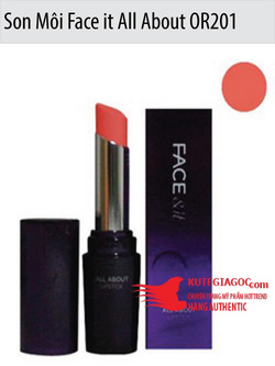 Ảnh số 46: Son Môi Face it All About Lipstick Moisture OR201 The Face Shop - Giá: 143.000