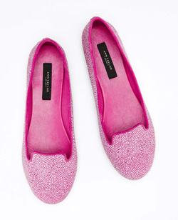 Ảnh số 19: Giày New Ann Taylor Hadley Canvas Loafer Flat Shoes - Giá: 1.050.000