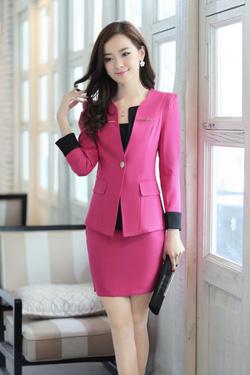 Ảnh số 63: Bộ vest công sở nữ - Giá: 520.000