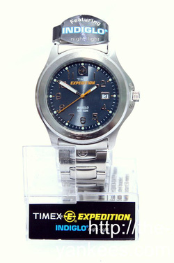 Ảnh số 60: YK13558 - Timex Expediton Charcoal Dial All Stailess Steel - Giá: 1.750.000