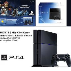 SONY/ Bộ Máy Chơi Game Playstation 4/ Launch Edition